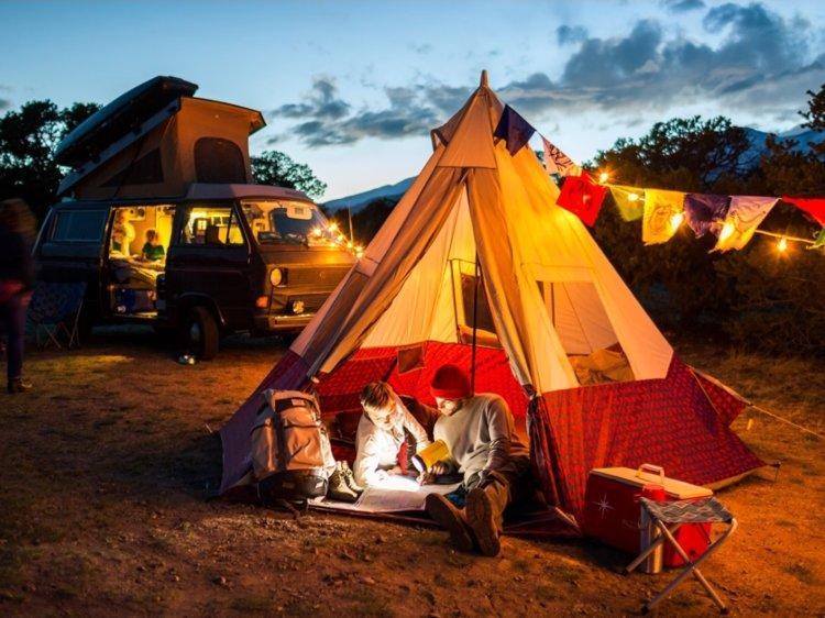 Camping o acampar de forma tradicional