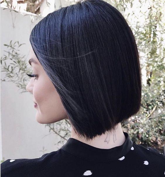 tendencias de tinte inky black