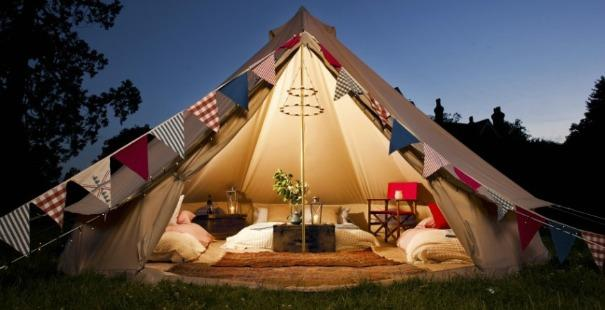 Glamping confort