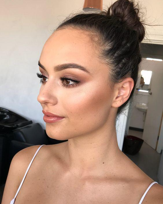 tendencias de maquillaje para novias 2019-2020