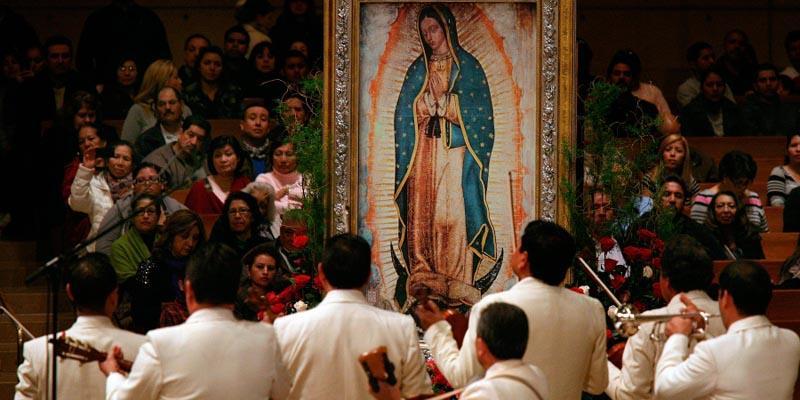 dia de la madre virgen de Guadalupe