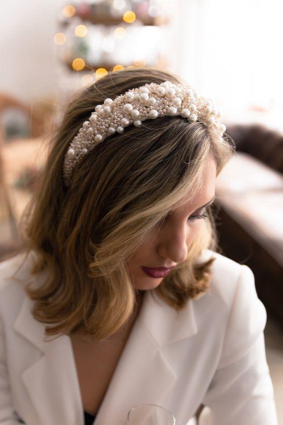 tendencias en accesorios para novias 2019 - 2020