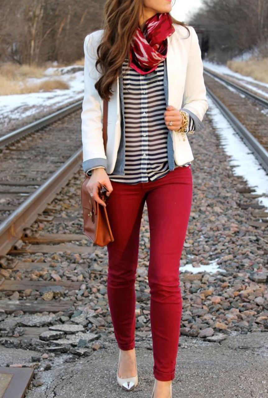 Ideas De Outfits Para Combinar Tu Blusa A Rayas Ideas De Outfits Looks Blusas A Rayas Tendencias Moda Moda Y Belleza Wapa Pe