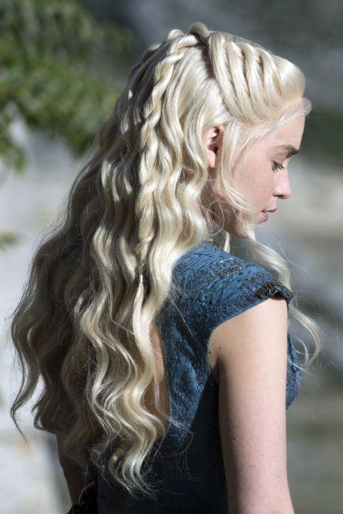 game of thrones cabello daenerys targaryen