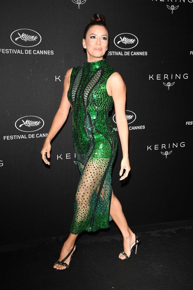 festival de cannes 2019 eva longoria inspiración de moda