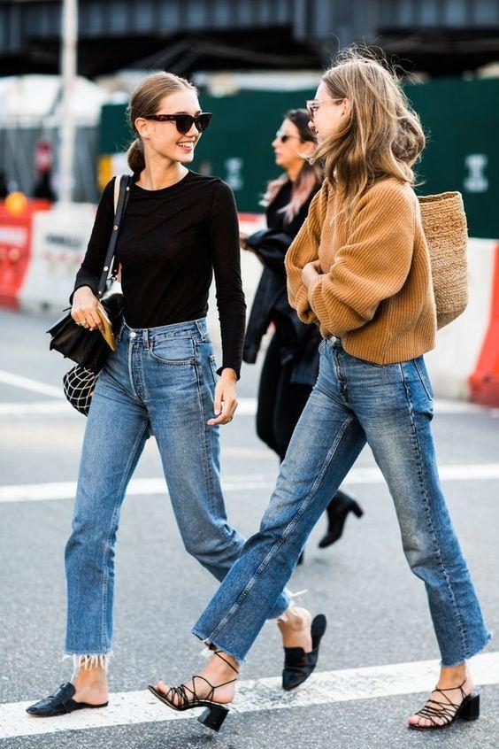 tendencias de moda jeans rectos 2019