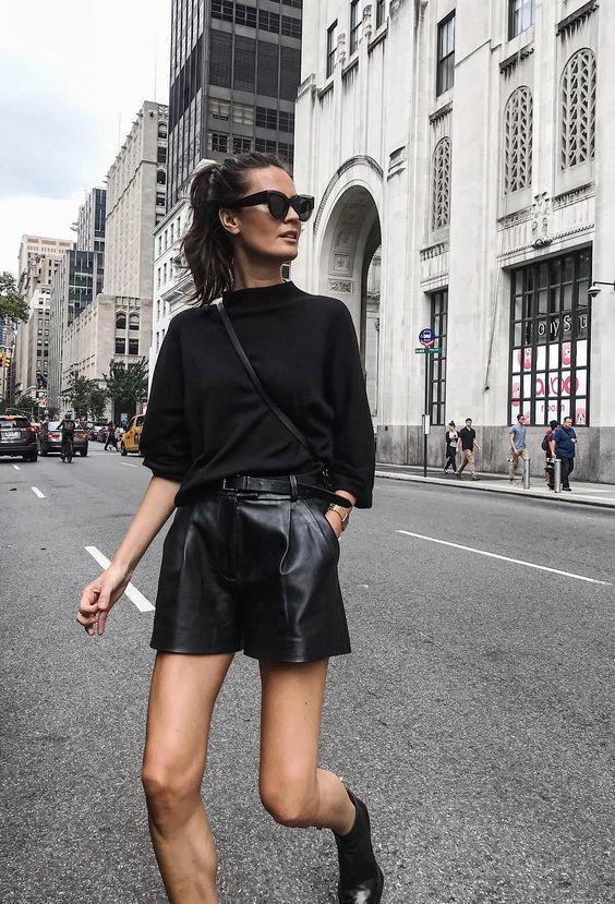 tendencias de moda 2019 mom shorts