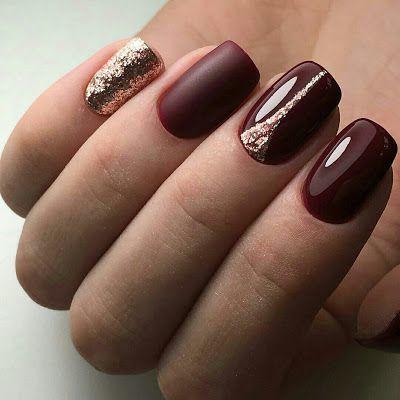 Manicure Mira Estos Diseños De Uñas Color Vino Que Puedes