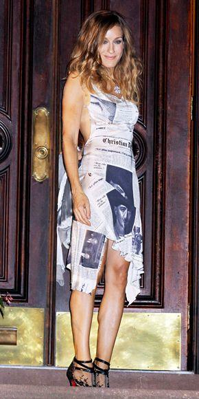 sarah jessica parker outfit kim kardashian