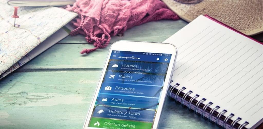 Celular compra de boletos internet