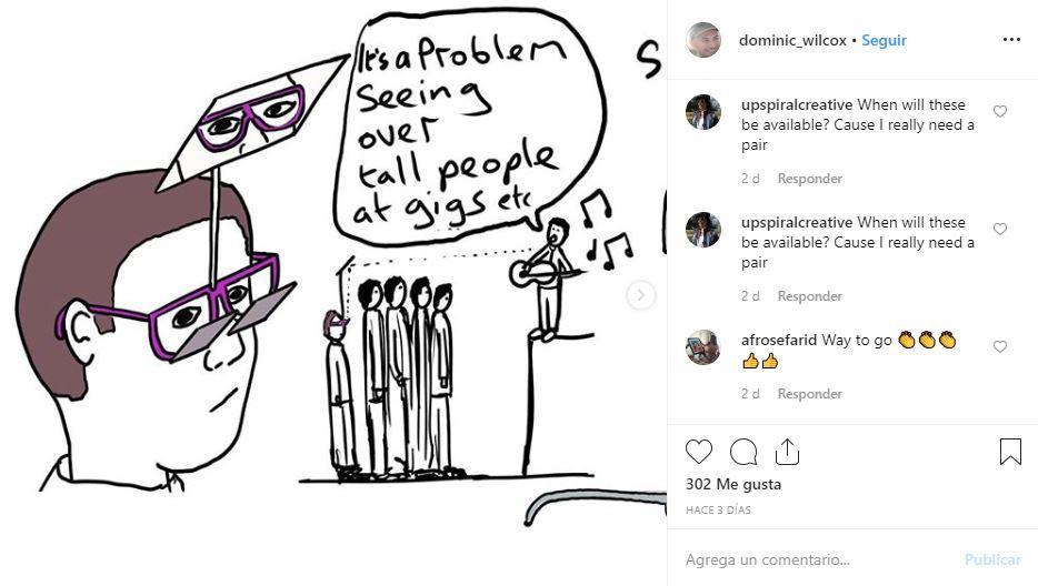 Gafas periscopio