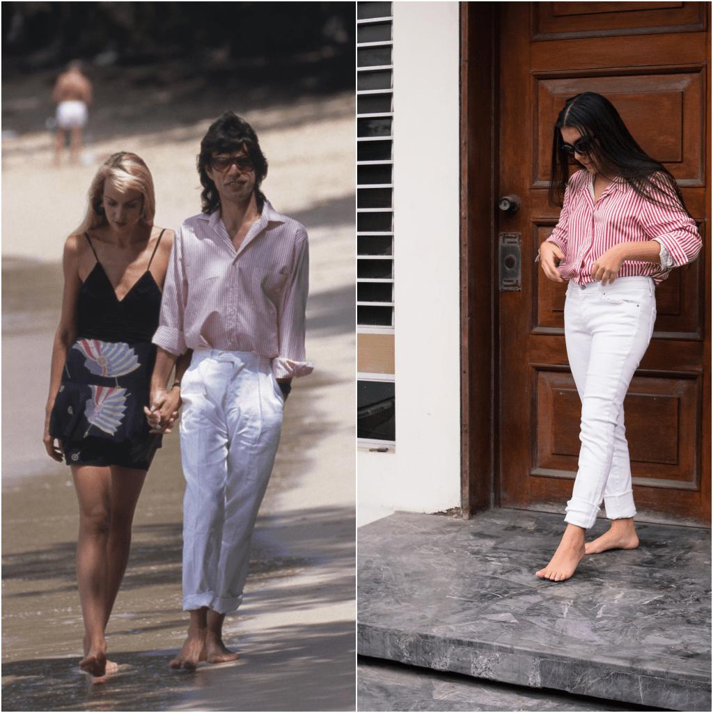 estilo de moda tendencias 70's mick jagger