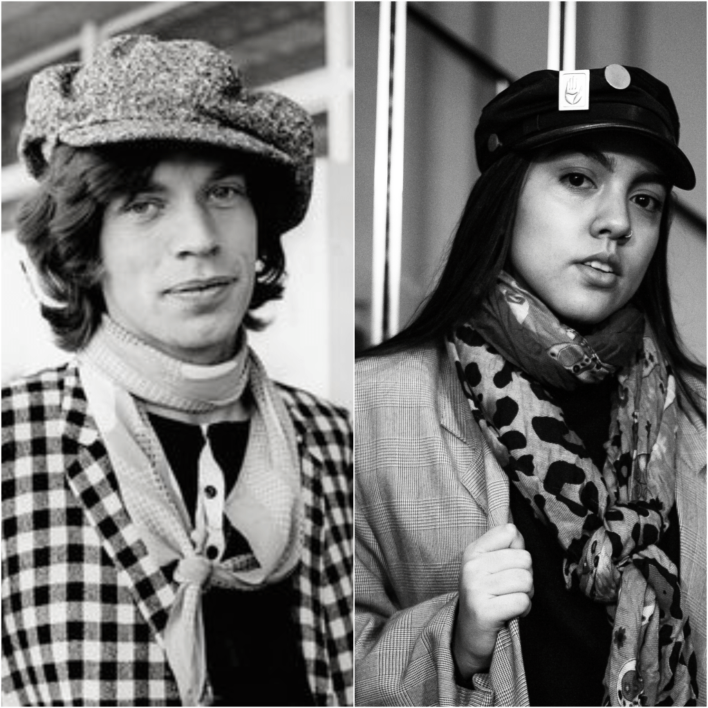 tendencias de moda 70's mick jagger