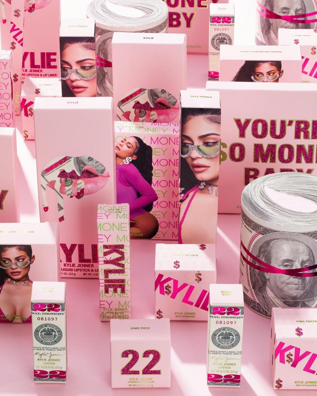 Kylie Jenner celebra su 19 cumpleaños con una nueva línea