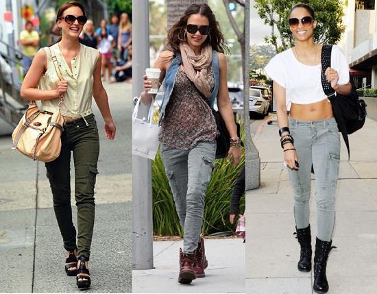 Pantalones Cargo En Tendencia Primavera Verano Arma Tu Outfit Ideal Para La Nueva Temporada De Moda 2020 Looks Fotogaleria Moda Y Belleza Wapa Pe